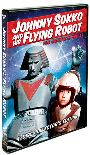 Johnny sokko and his flying robot the complete series shout