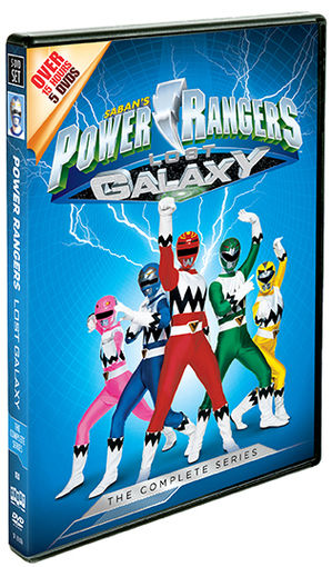 Image result for power rangers lost galaxy dvd