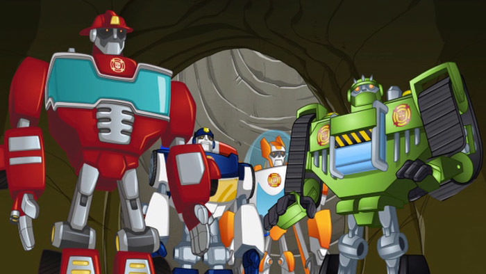 Product detail transformers rescuebots