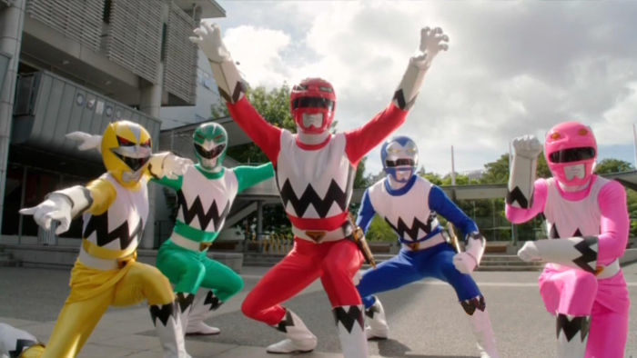 Power Rangers: Lost Galaxy - Opening