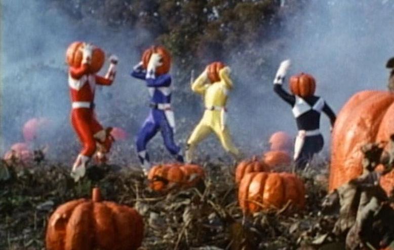 Power Rangers Halloween Episode