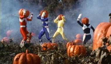 Power Rangers Halloween Episode