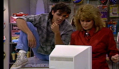 George Clooney on The Facts of Life