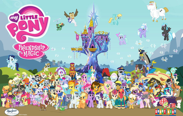 My Little Pony: Friendship Is Magic Wallpaper Download