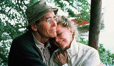 On Golden Pond, Henry Fonda and Katharine Hepburn