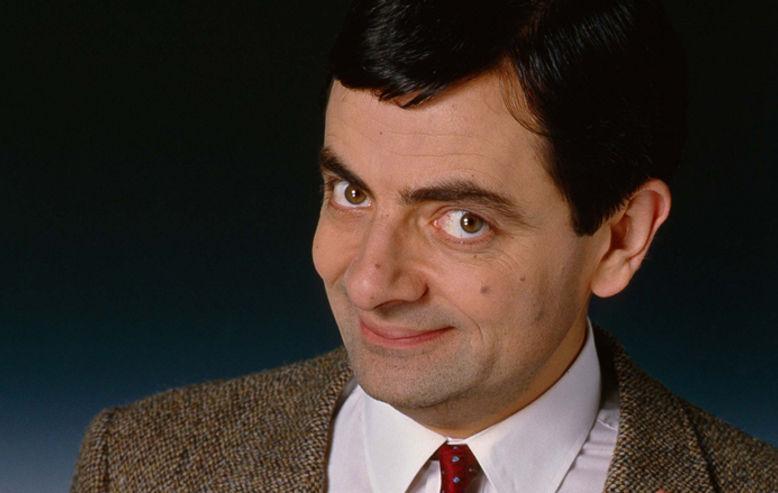 Rowan Atkinson is Mr. Bean