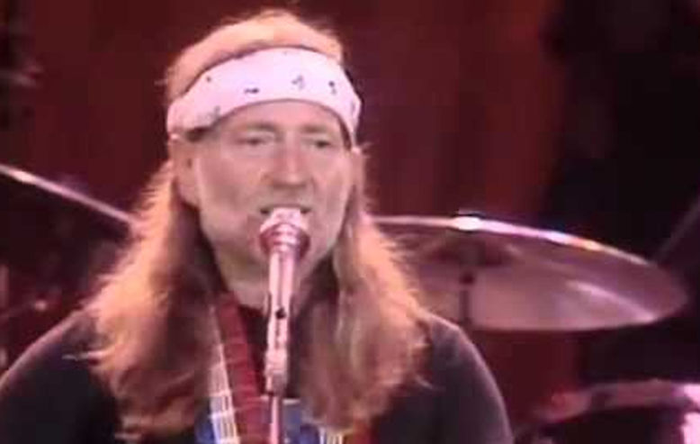 Willie Nelson at the US Festival
