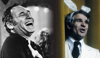 Mel Brooks and Steve Martin