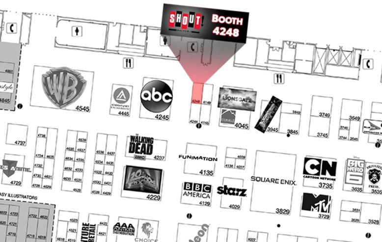 Comic-Con Map