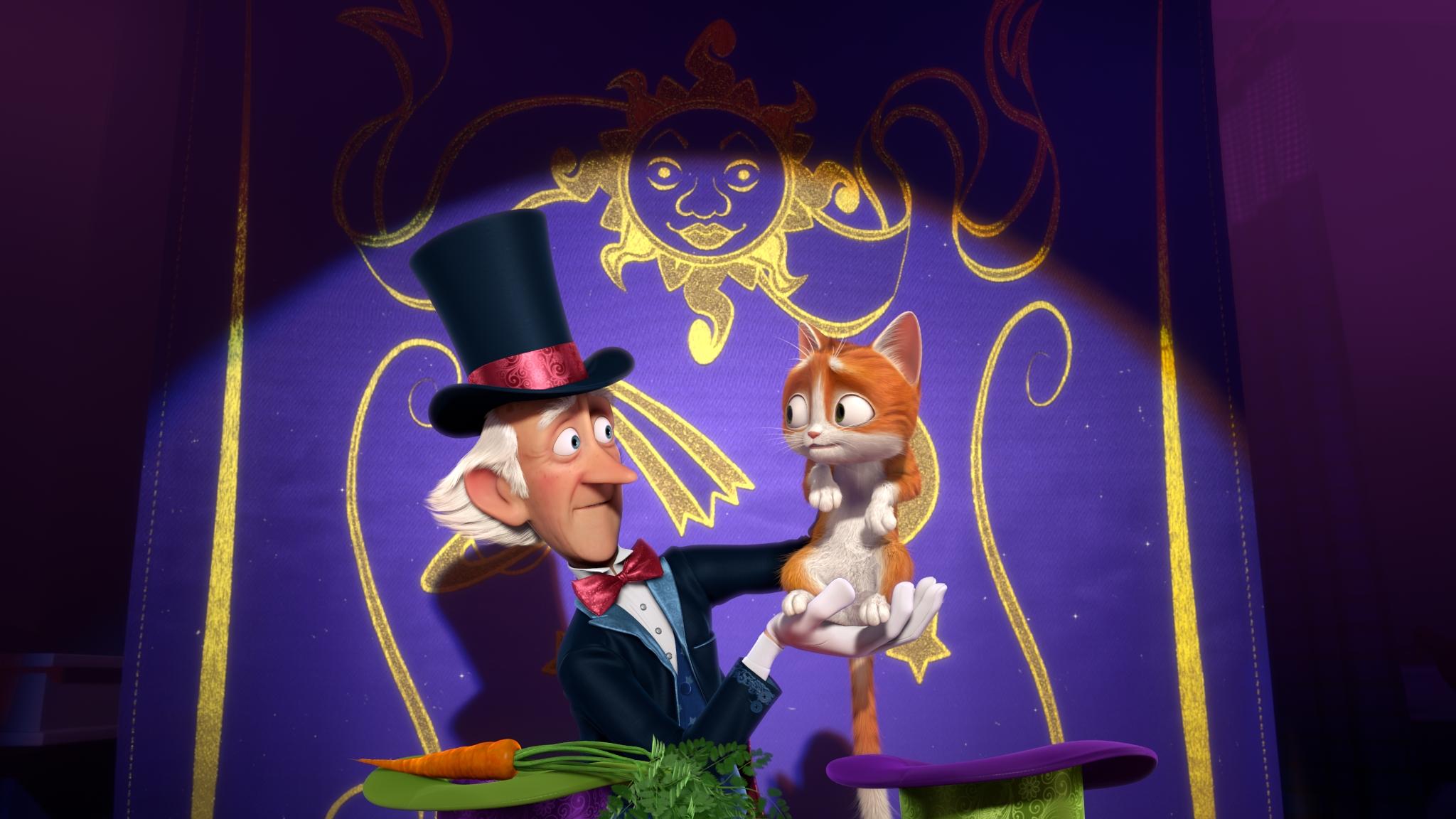 Кот Гром и заколдованный дом мультфильм скачать